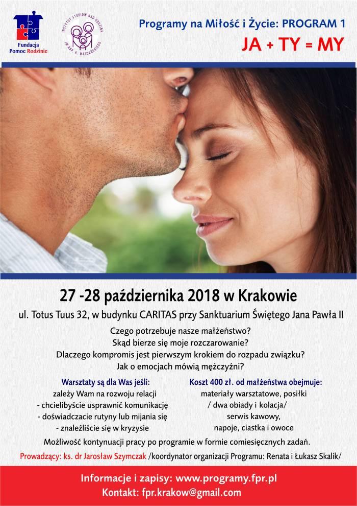 Program 1 Ja+Ty=My Kraków
