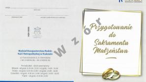 Nowe formularze świadectw potwierdzające uczestnictwo narzeczonych wbezpośrednim przygotowaniu do sakramentu małżeństwa