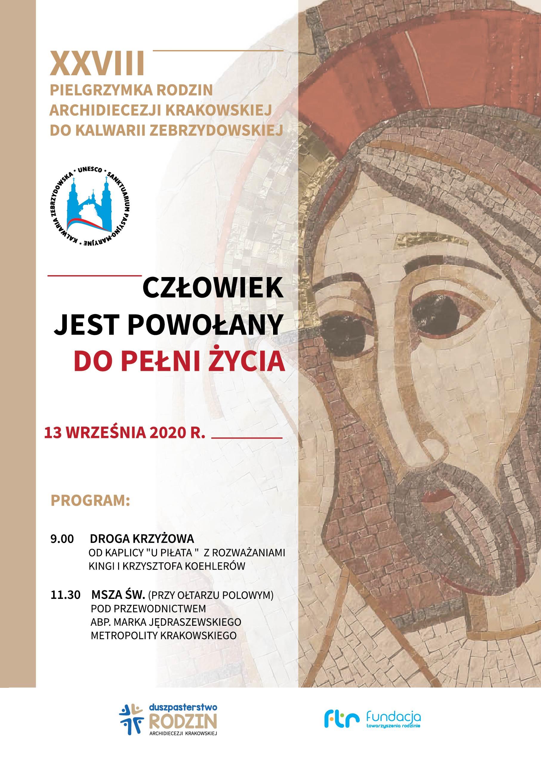 Transmisja XXVIII Pielgrzymki Rodzin Archidiecezji Krakowskiej do Kalwarii Zebrzydowskiej